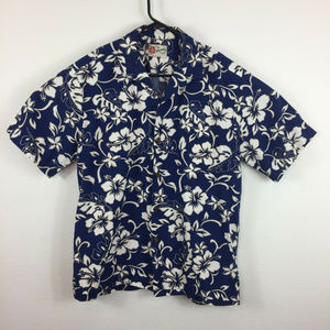 Hilo Hattie Short Sleeve Hawaiian Casual Shirt L